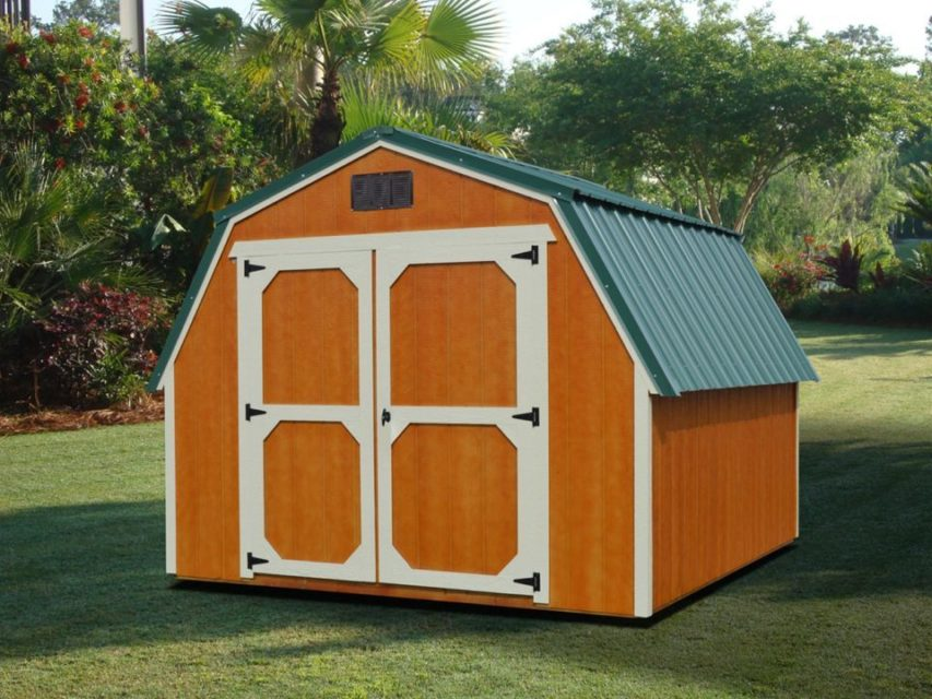 Derksen Portable Barn Storage Shed