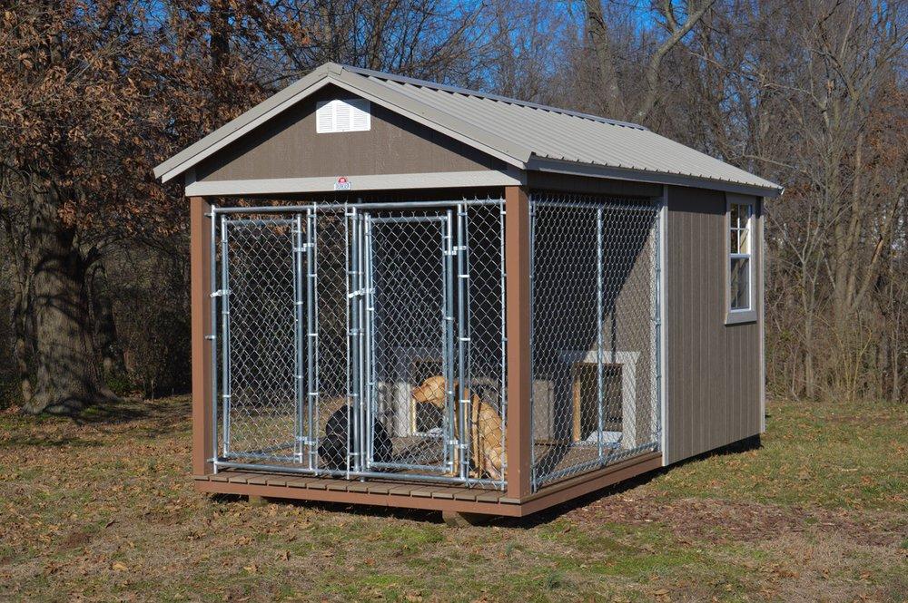 Derksen 8′ x 16′ Dog Kennel