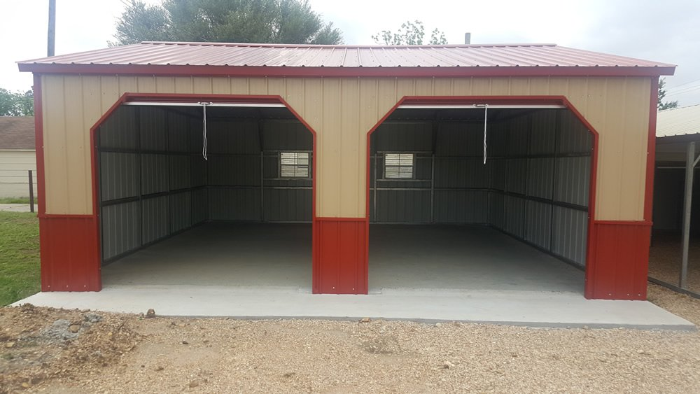 24' x 26' Side Two Car Garage BLOW-OUT!!