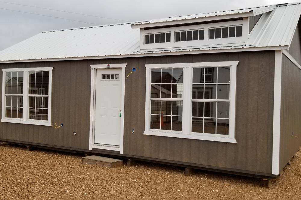 In Progress: 16×30 Side Cabin