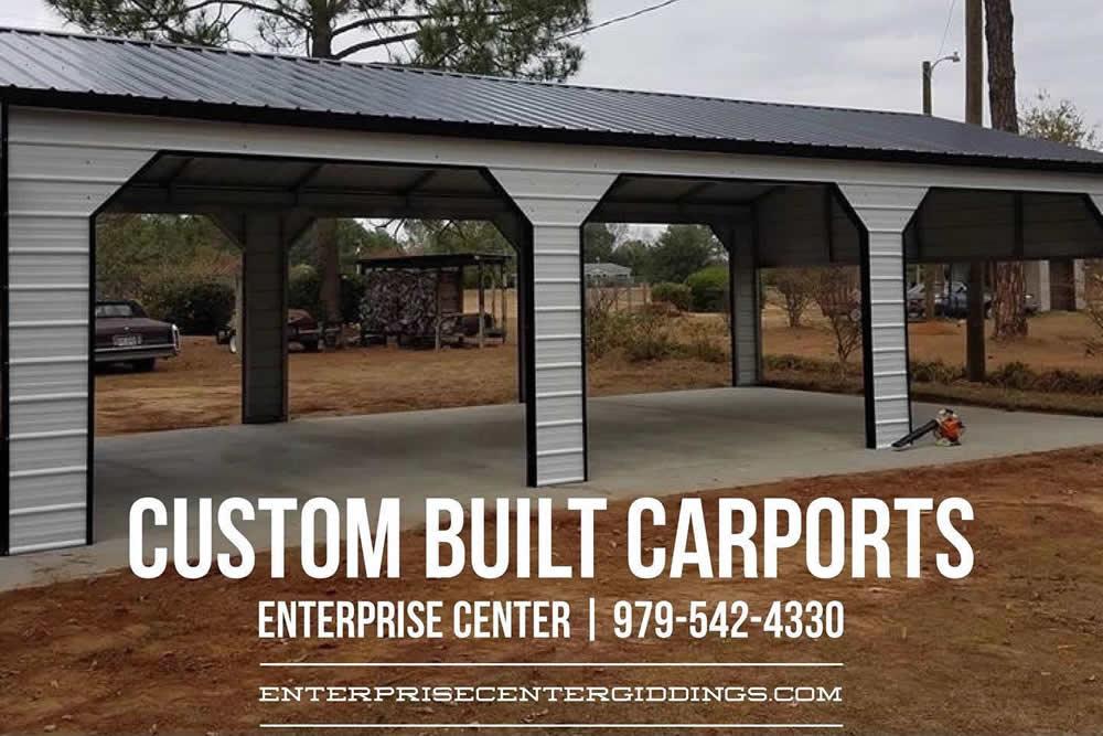 Custom Built Carports